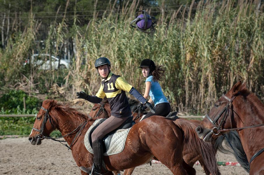 Can Caldés acogerá el Campeonato de España de Horseball