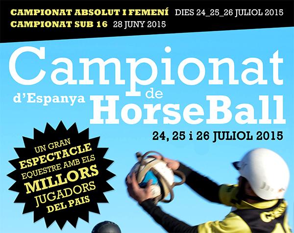 Campeonato de España de Horseball en Can Caldés