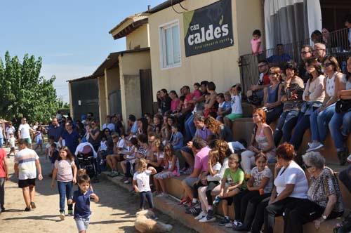 Can Caldés inauguró temporada con una jornada de exhibición