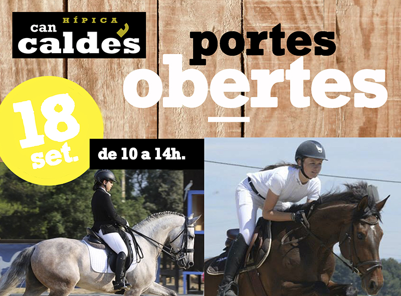 El domingo 18, jornada de puertas abiertas en Can Caldés