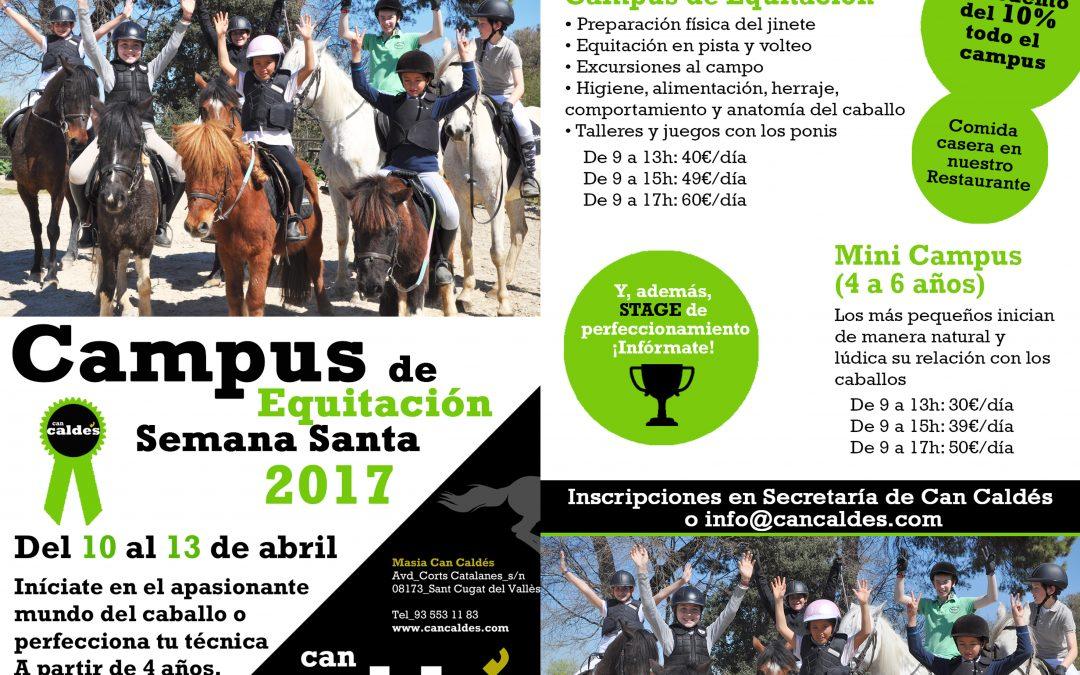 Campus Semana Santa y Verano '17