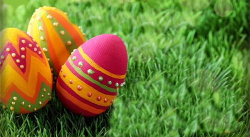 ¡Felices Pascuas! Bones Pasqües! Happy Easter! Joyeuse Pâques