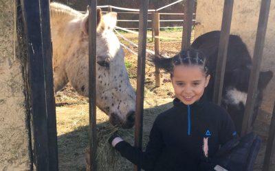 AMAYA LAFFORGUE, 8 años