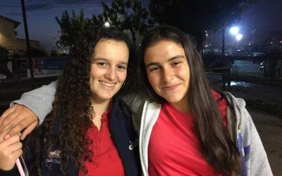 Julia y Paula, 15 años