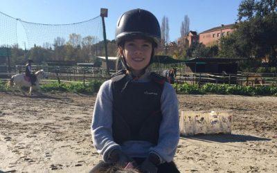 Clàudia Julià, 10 años