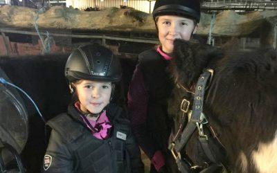 María e Inés Gibaut, 10 y 8 años