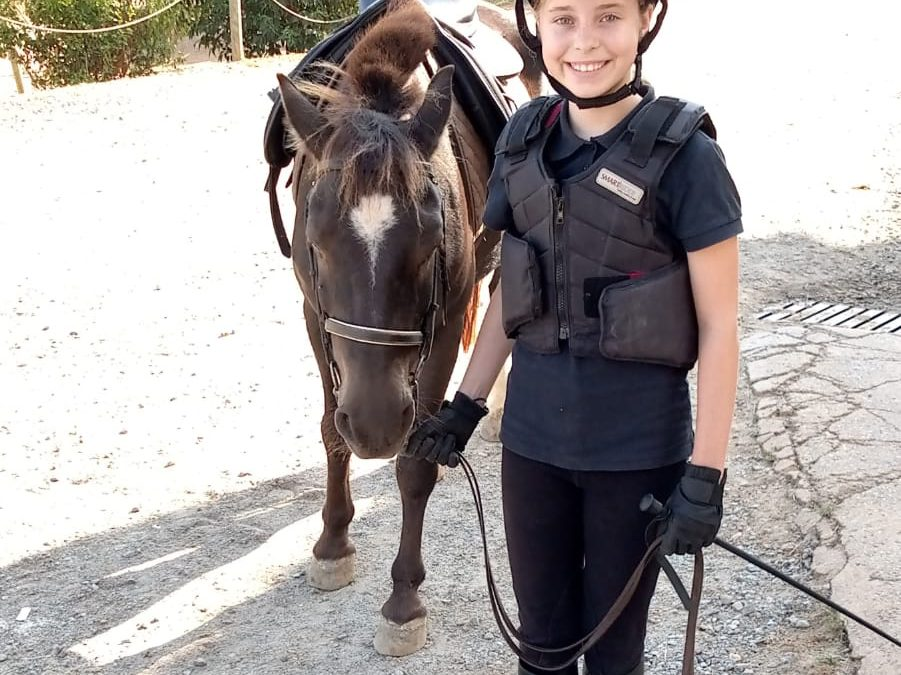 Sara Schiller, 10 años
