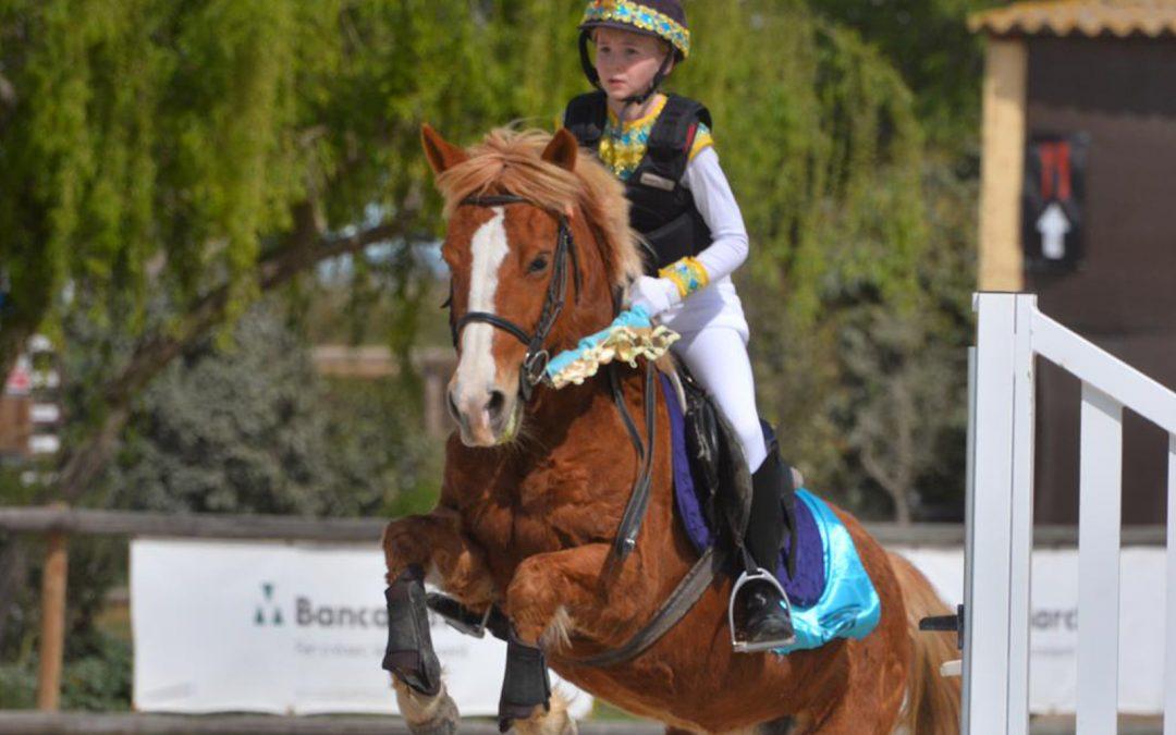 Claudia Fabra, 12 años