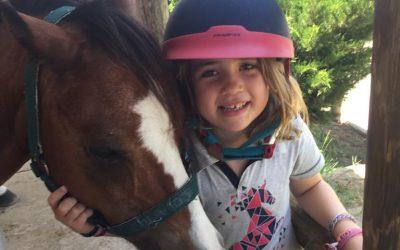 Clàudia Matas, 6 años