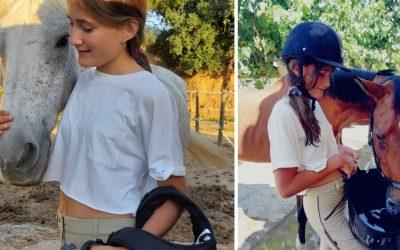 Rita Rossell, 12 años