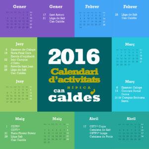 Calendari 2016 1er semestre