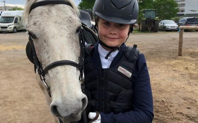 Kianna Simms, 10 años